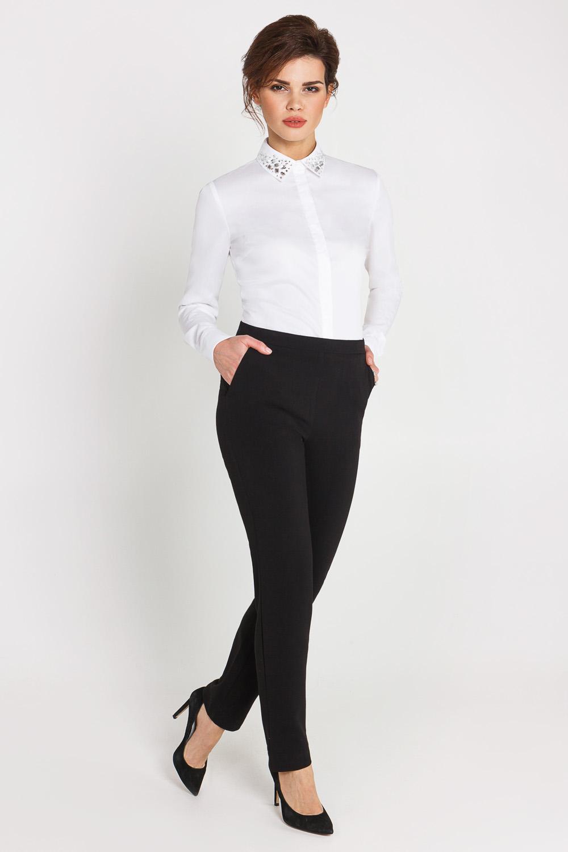 Брюки и рубашка женская мода фото